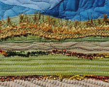 Rice Fields, detail