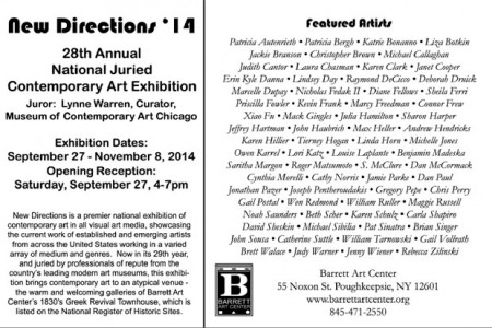 New Direction '14 exhibit info