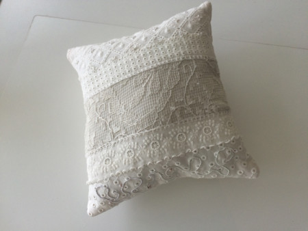 Irish pin pillow
